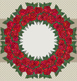 rosesframe vector image
