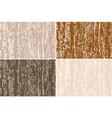 grunge background old bark tree texture vector image