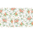 flower abstract pattern vector image