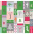 christmas style vector image