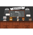 Funny Best Friends Of Barista vector image