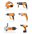 electric tools vector image