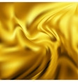 Abstract Texture Yellow Silk vector image