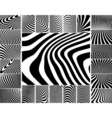 Zebra stripes vector image