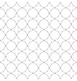 black and white line geometric background vector image