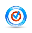 United States Election Vote Badge vector image