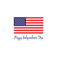 united states of america independence day concept vector image