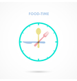 Food Time vector image