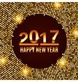 New Year 2017 celebration background vector image vector image