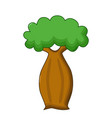 Bottle tree icon cartoon style vector image