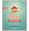 cakes2 vector image vector image