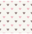 Happy Valentines Day Seamless Pattern Background vector image vector image