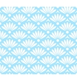 Abstract blue and white seamless pattern vector image