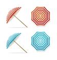 Sun Umbrella Set vector image