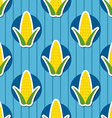 corn pattern Seamless texture vector image