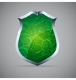 Icon of shield vector image