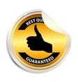 Best choice label sticker vector image