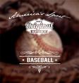 baseball original sport vector image