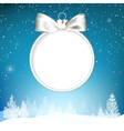 Golden christmas ball vector image vector image