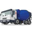 Cement Mixer Truck vector image