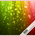 Abstract background with colorful magic light vector image