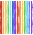 Watercolor rainbow background with some stripes vector image