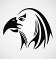 Eagle Head Tribal vector image