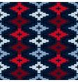 Native american geometric pattern vector image