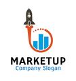 Market Up Design vector image