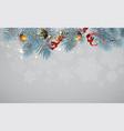 cristmas background highly realistic vector image
