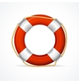 Life Buoy Ring Red vector image