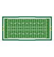 American Football Aerial Field vector image