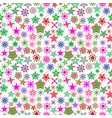kids colorful cartoon stars pattern vector image