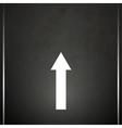 Road marking vector image vector image
