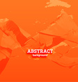 Bright Orange Abstract Background vector image vector image