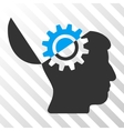 Open Mind Gear Icon vector image