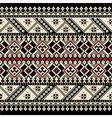 Ukrainian Ethnic Stitch Pattern vector image