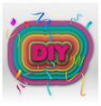 Diy vector image