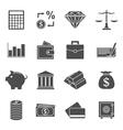 money icons vector image