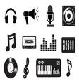 muzicke ikonice1 resize vector image