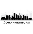 Johannesburg City skyline vector image