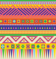 Indian style carpet vector image