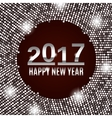 New Year 2017 celebration background vector image vector image