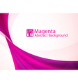 Magenta abstract background vector image vector image