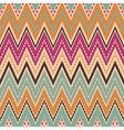 Seamless chevron zigzag pattern vector image