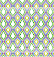 Brightly colored stripe pattern vector image