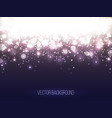 abstract shining background colorful bokeh vector image