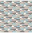Flat style books shelf pattern vector image