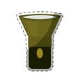 flashlight or lantern icon image vector image