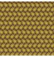 golden wicker seamless pattern vector image